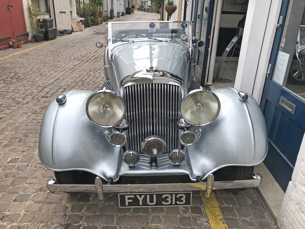 1939 Bentley 4.25 litre MX chassis series Vanden Plas style  For Sale (picture 11 of 24)