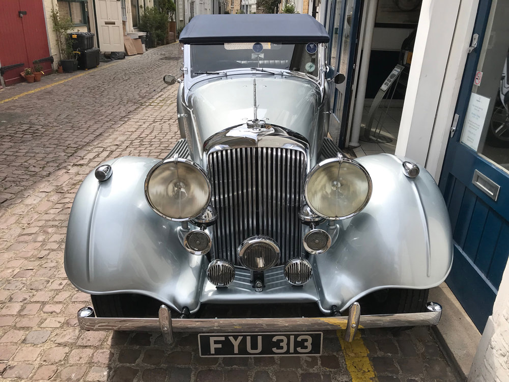 1939 Bentley 4.25 litre MX chassis series Vanden Plas style  For Sale (picture 12 of 24)