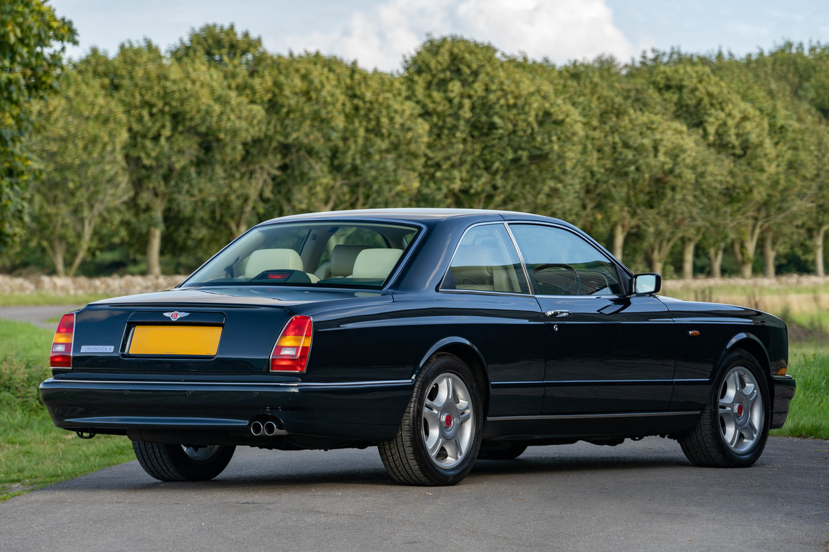 Bentley Continental R 1998 - 46,000 miles from new For Sale (picture 2 of 6)