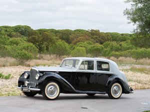 1950 Bentley Mark VI Saloon  For Sale by Auction