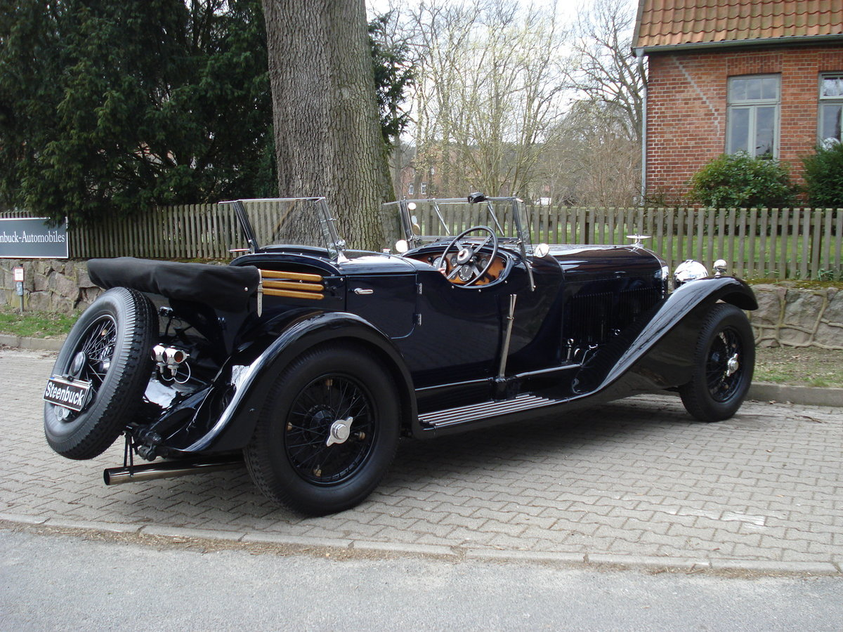 1931 Bentley 4 litre No. 22 with the powerful 6 1/2 litre engine For Sale (picture 2 of 5)