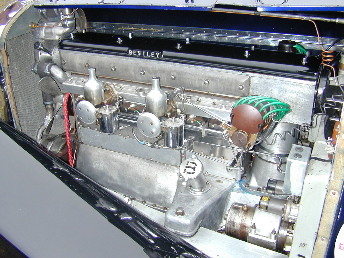 1931 Bentley 4 litre No. 22 with the powerful 6 1/2 litre engine For Sale (picture 4 of 5)