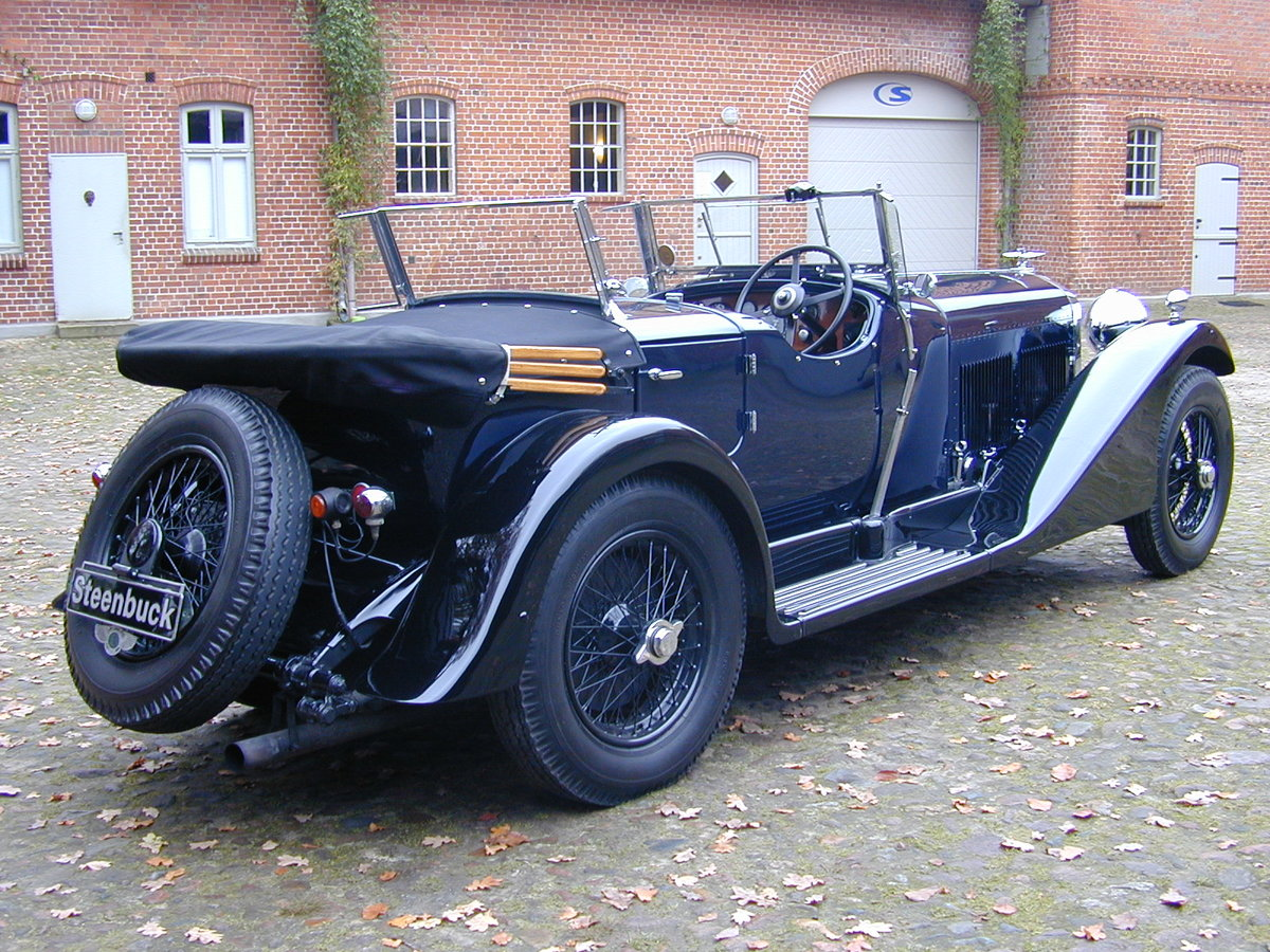 1931 Bentley 4 litre No. 22 with the powerful 6 1/2 litre engine For Sale (picture 5 of 5)