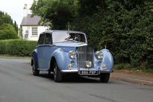 1949 Bentley MKVI Standard Steel Saloon