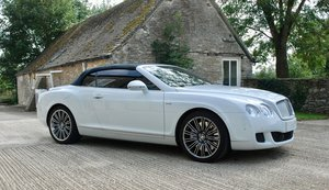 2010 BENTLEY CONTINENTAL GTC W12 SPEED For Sale