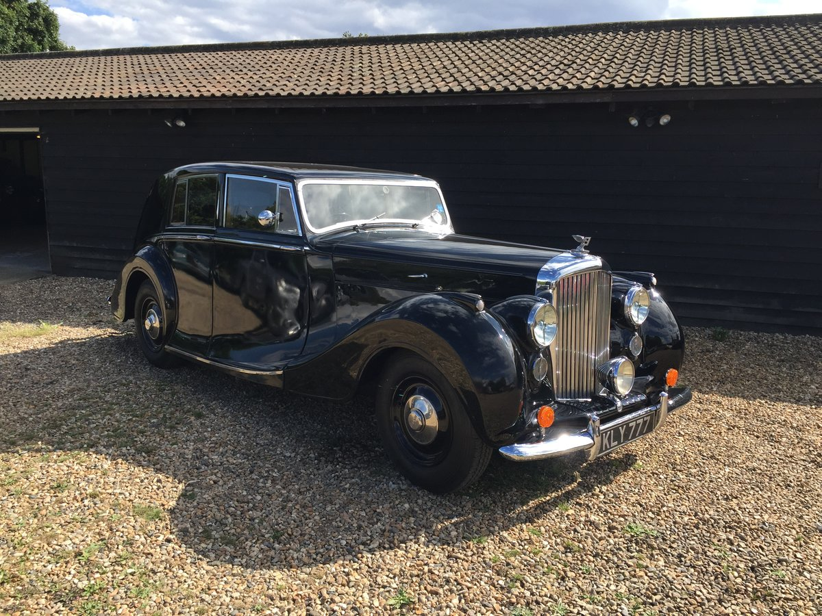 1949 Bentley VI Rare Sports Saloon by Hooper Alloy Body For Sale (picture 1 of 6)