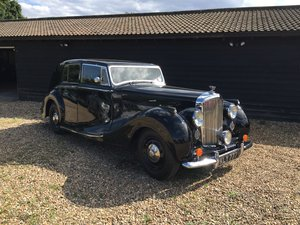 1949 Bentley VI Rare Sports Saloon by Hooper Alloy Body