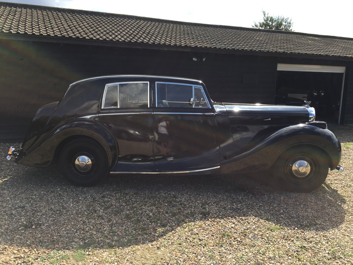 1949 Bentley VI Rare Sports Saloon by Hooper Alloy Body For Sale (picture 2 of 6)