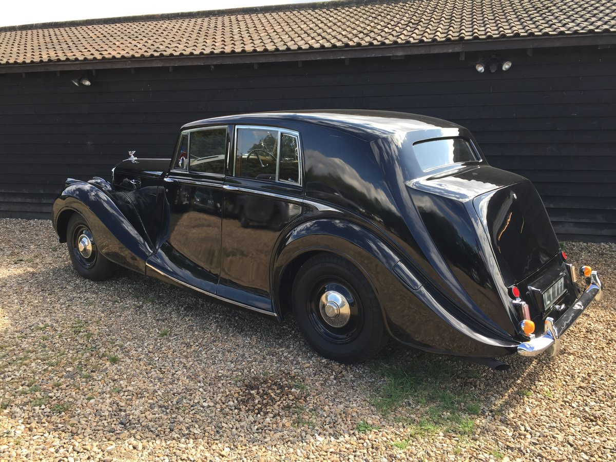 1949 Bentley VI Rare Sports Saloon by Hooper Alloy Body For Sale (picture 6 of 6)