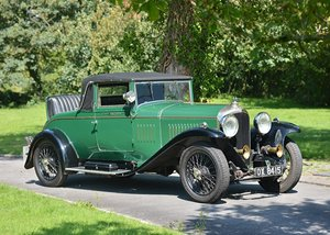 1928 Bentley 4 12 Litre Drophead Coup by Salmons & Sons For Sale by Auction