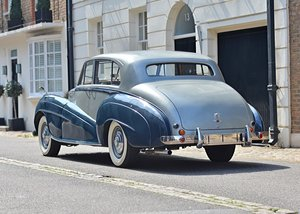 1951 Bentley Mk. VI Lightweight Saloon by H.J. Mulliner SOLD by Auction