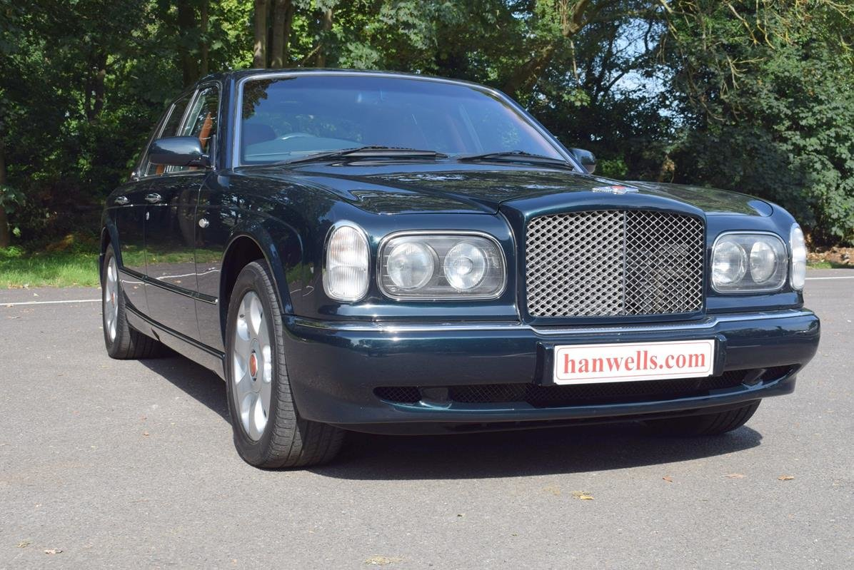 1998 S Bentley Arnage Red Label Look Alike in Black Emerald For Sale (picture 1 of 6)