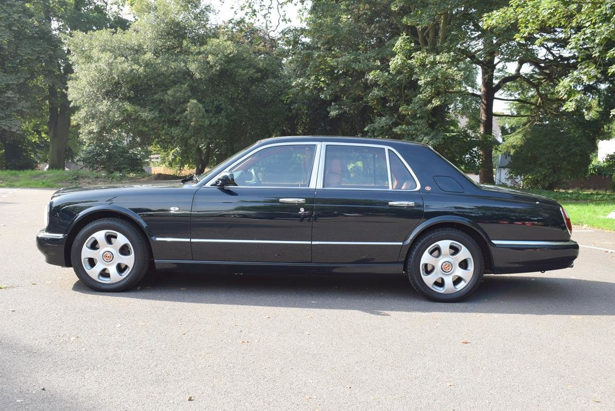 1998 S Bentley Arnage Red Label Look Alike in Black Emerald For Sale (picture 4 of 6)