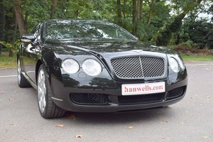2005/55 Bentley Continental GT Mulliner in Black Emerald For Sale