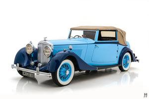 1934 Bentley 3.5 Litre Park Ward Drophead Coupe For Sale