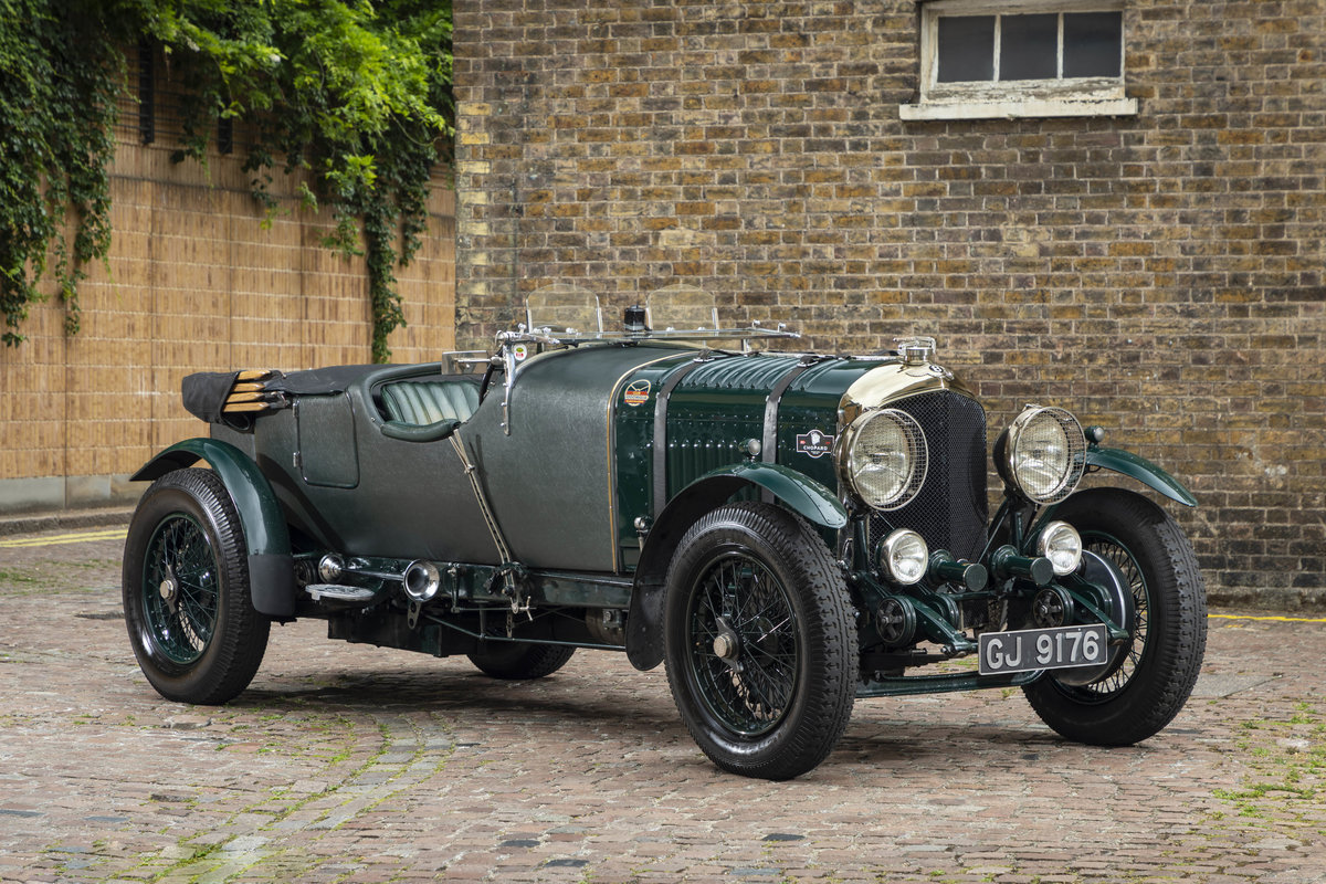 1930 Bentley 4 12 Litre Vanden Plas Le Mans Style Tourer For Sale (picture 1 of 12)