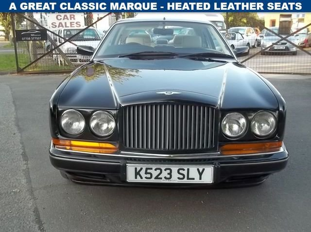 1993 bentley continental r 6.8 auto For Sale (picture 1 of 5)