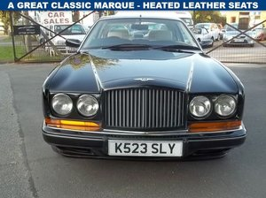 1993 bentley continental r 6.8 auto For Sale