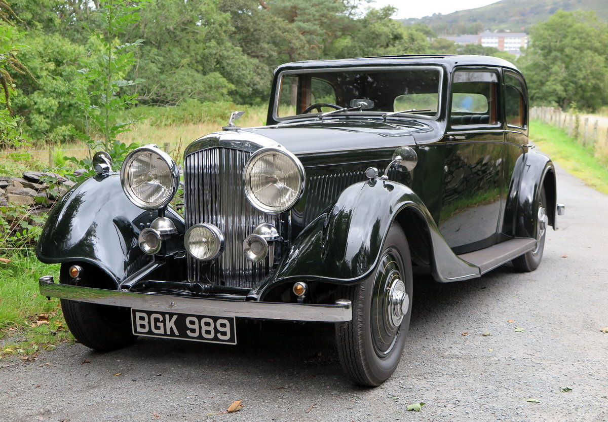 1934 Bentley 3 ½ Litre Thrupp & Maberly Sports Saloon. B9BL For Sale (picture 1 of 6)