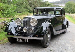 1934 Bentley 3 ½ Litre Thrupp & Maberly Sports Saloon. B9BL For Sale