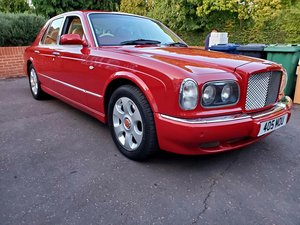 2001 Bentley Arnarge Red Label fireglow red very low mi