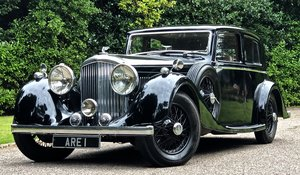 1937 BENTLEY DERBY 4 1/4 LITRE SPORTS SALOON MANN EGERTON For Sale