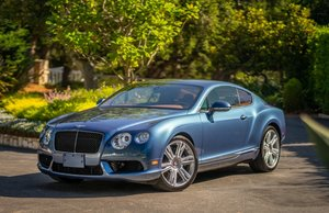 2014 Bentley Continental GT V8 Rare Blue Crystal(~)Ginger For Sale