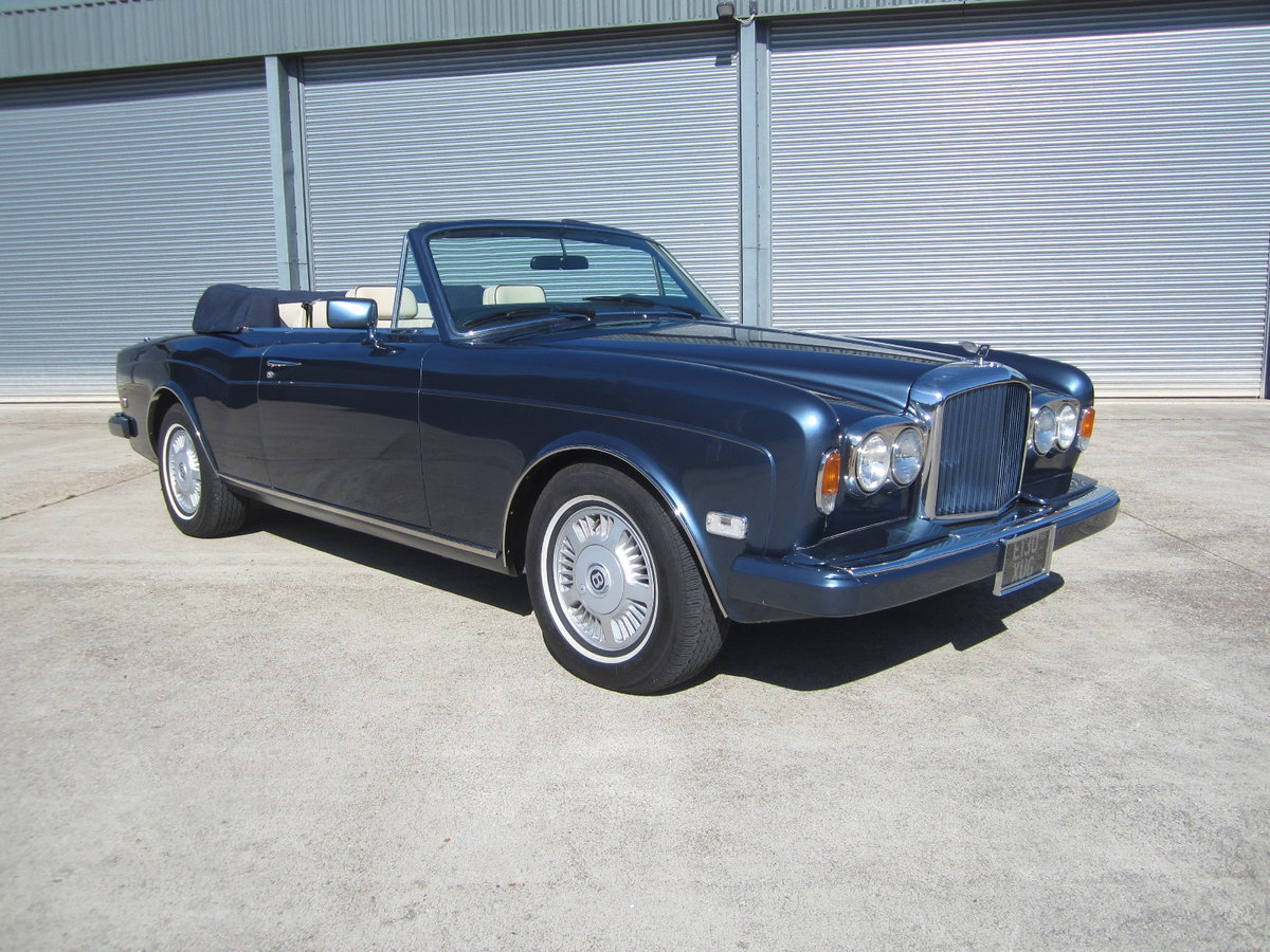 1988 Bentley Continental For Sale (picture 1 of 6)