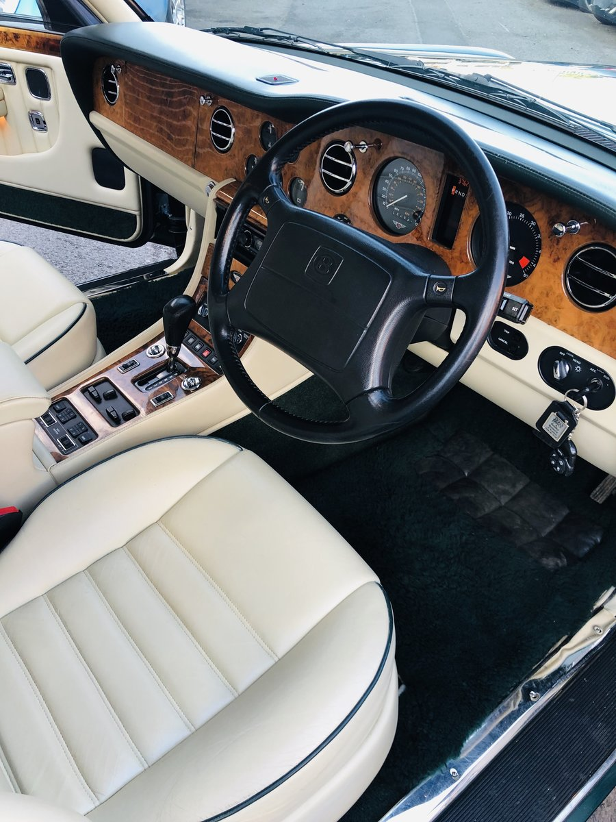 1996 BENTLEY BROOKLANDS -LOW MILEAGE, BEAUTIFUL EXAMPLE SOLD (picture 5 of 6)