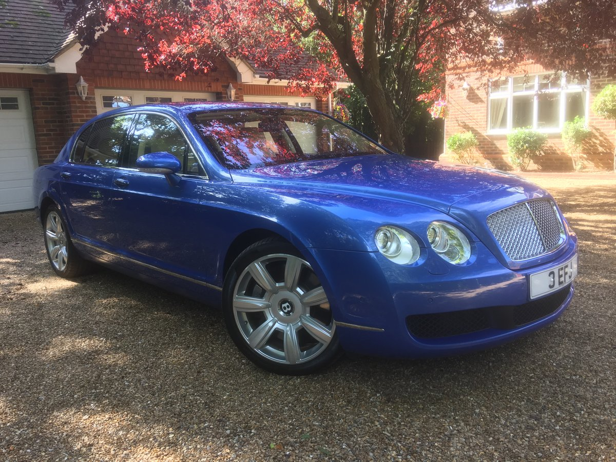 2006 Bentley flying spur demo + 1 owner only 13700 miles fsh For Sale (picture 1 of 6)