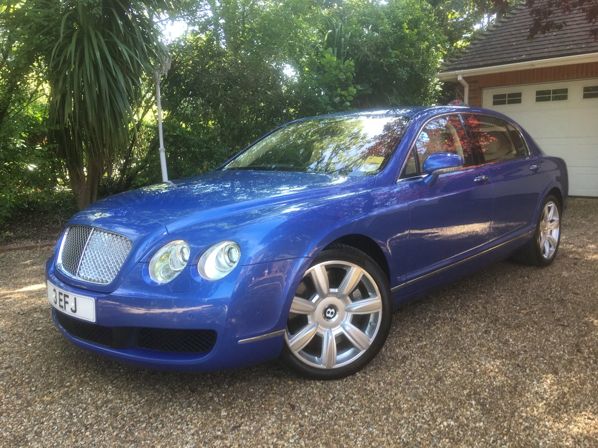 2006 Bentley flying spur demo + 1 owner only 13700 miles fsh For Sale (picture 2 of 6)