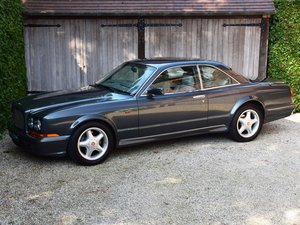 1997 Rare Bentley Continental T (18.370 km !) LHD For Sale