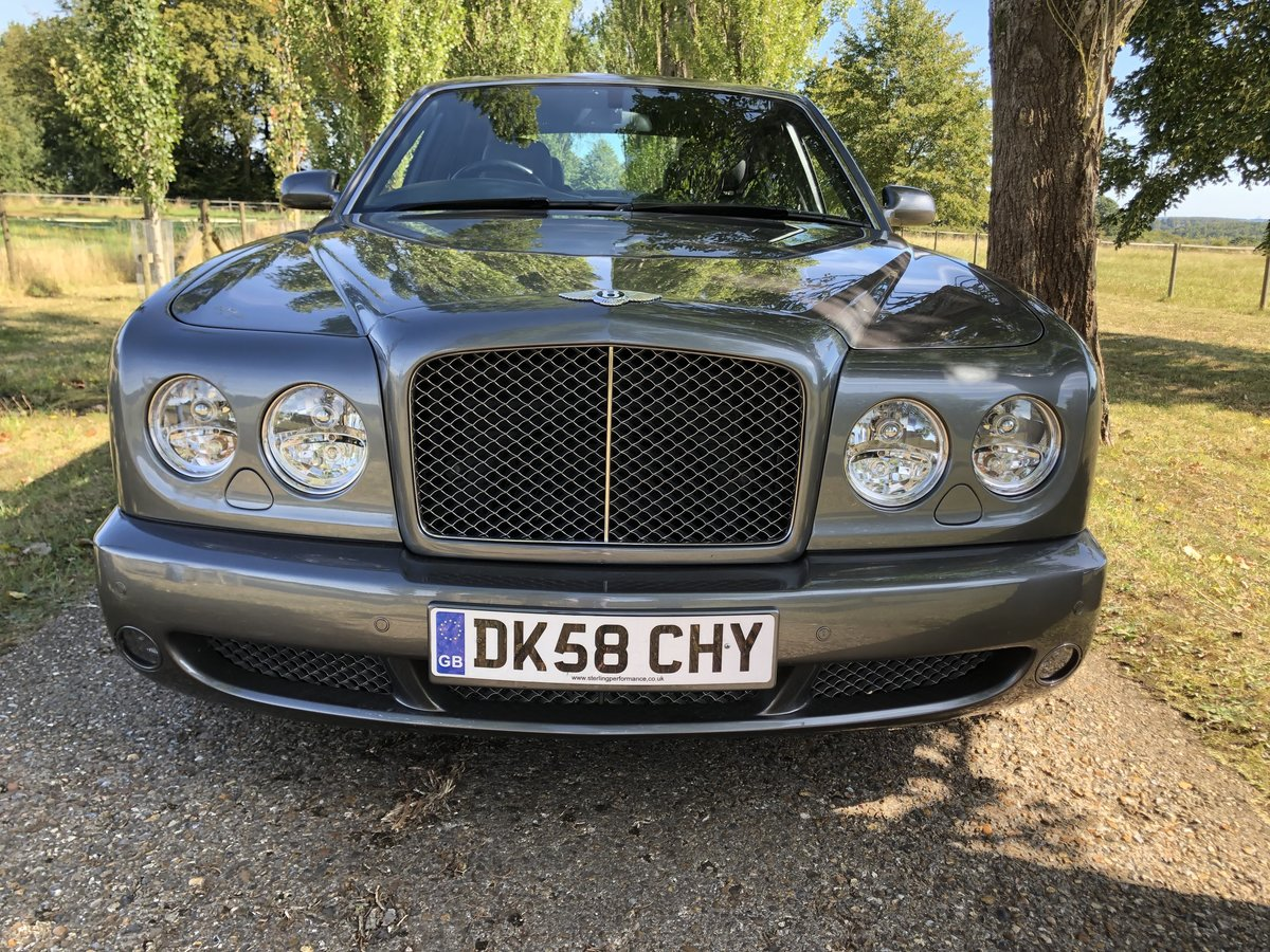 2008 Bentley Arnage T Auto Mulliner Ed For Sale (picture 2 of 6)
