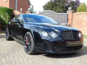 2010  Bentley Continental Supersports 2 Seater