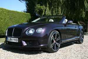 2014 Bentley Continental 4.0 GT V8 S Convertible Mulliner Pack .