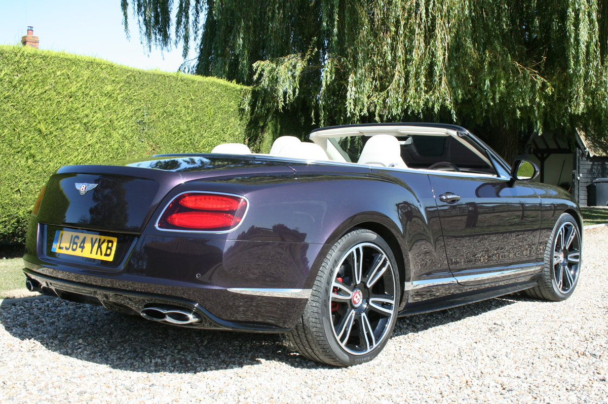 2014 Bentley Continental 4.0 GT V8 S Convertible Mulliner Pack .  For Sale (picture 3 of 6)