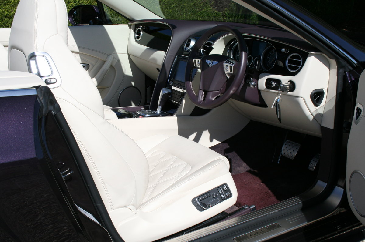 2014 Bentley Continental 4.0 GT V8 S Convertible Mulliner Pack .  For Sale (picture 6 of 6)