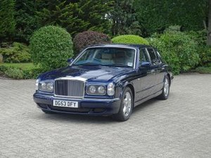 2003 Bentley Arnage R For Sale by Auction