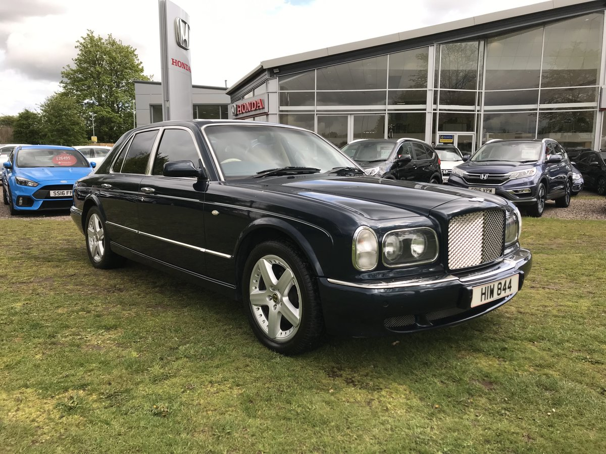 2001 Bentley Arnage 6.8 RED LABEL For Sale (picture 1 of 6)