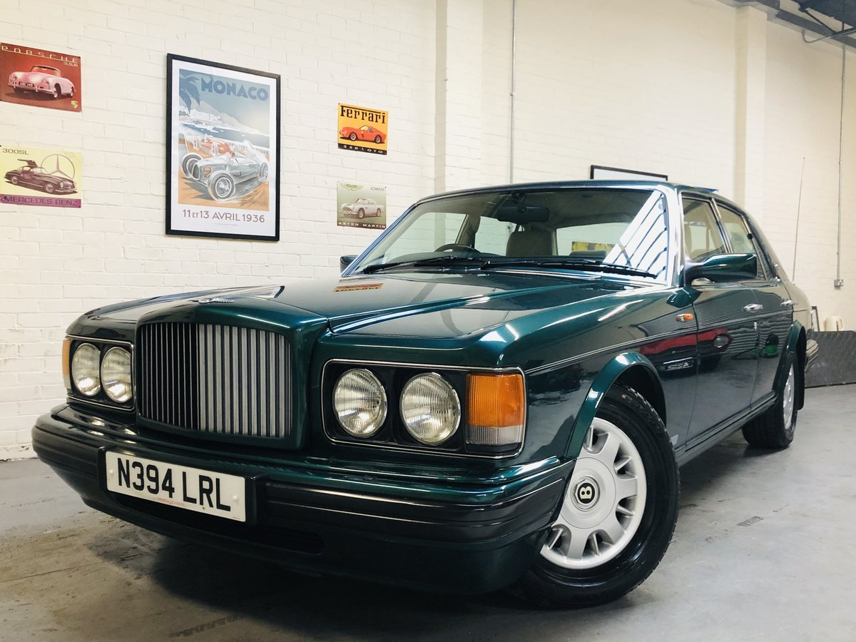 1996 BENTLEY BROOKLANDS -LOW MILEAGE, BEAUTIFUL EXAMPLE SOLD (picture 1 of 6)