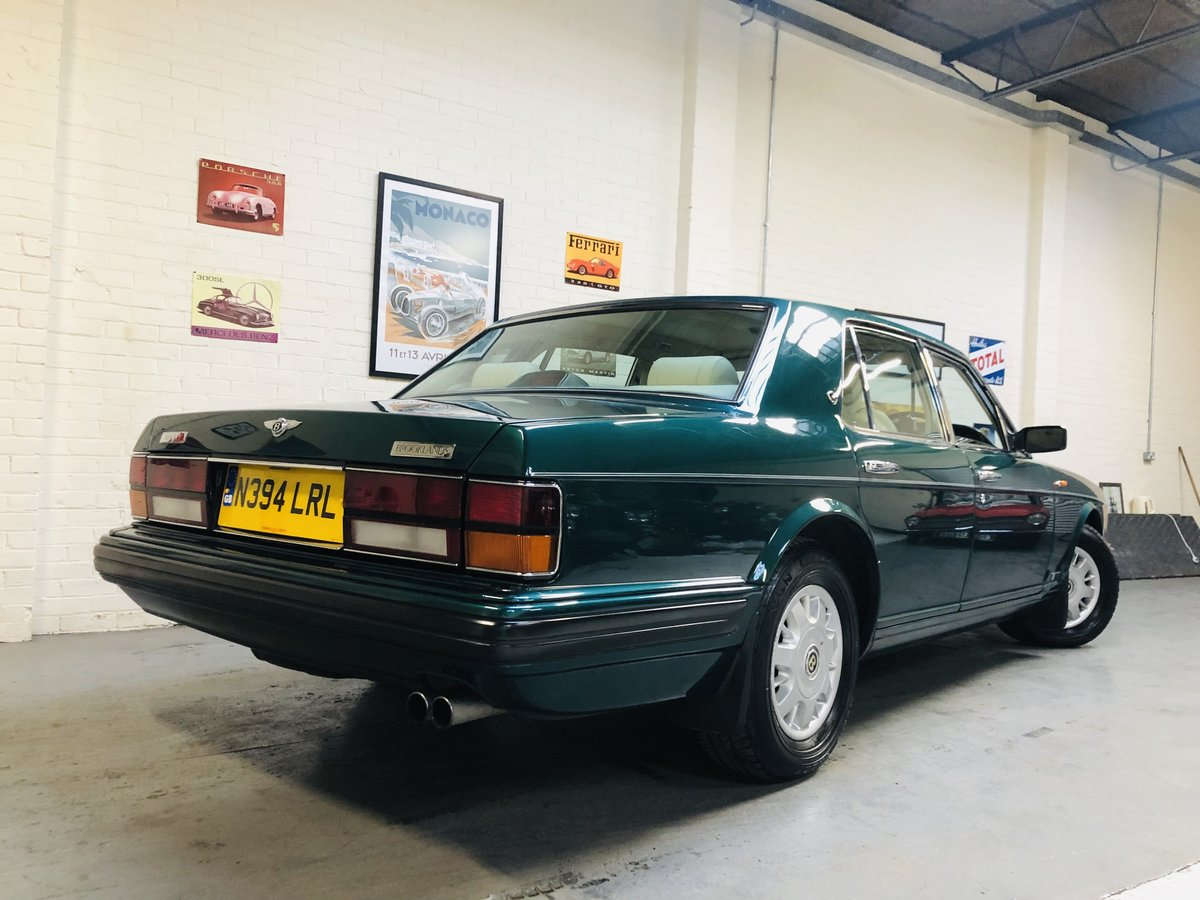 1996 BENTLEY BROOKLANDS -LOW MILEAGE, BEAUTIFUL EXAMPLE SOLD (picture 2 of 6)
