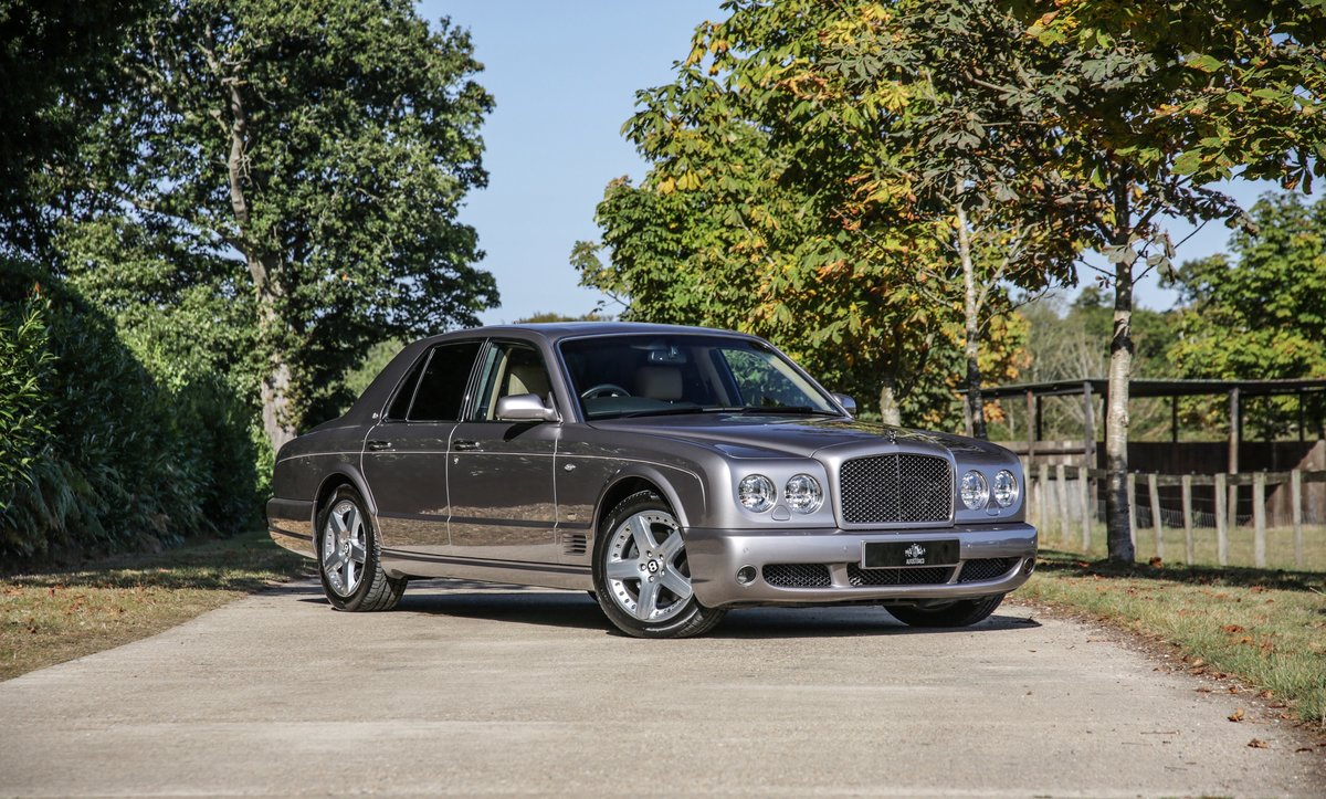 2009 Bentley Arnage T Mulliner Specification For Sale (picture 1 of 18)