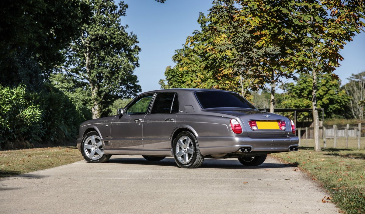 2009 Bentley Arnage T Mulliner Specification For Sale (picture 2 of 18)