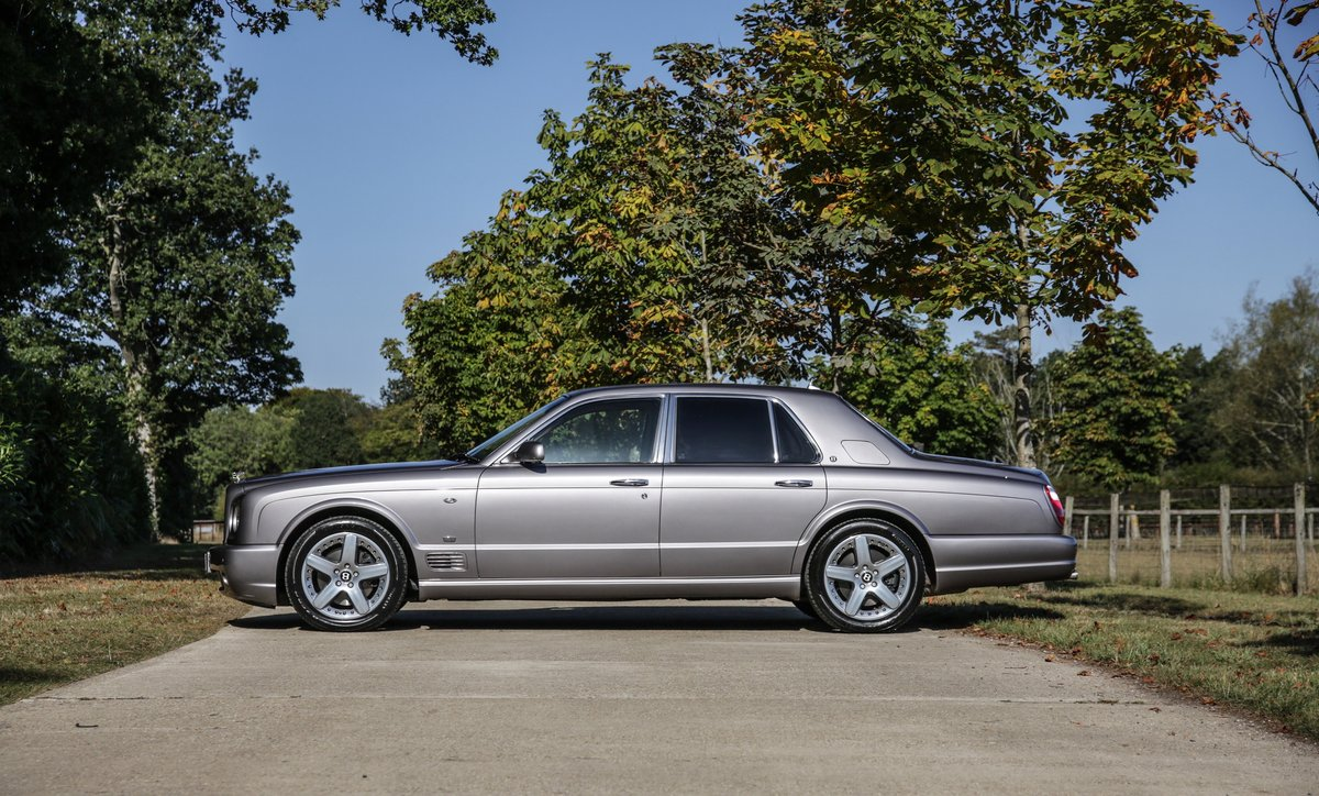 2009 Bentley Arnage T Mulliner Specification For Sale (picture 6 of 18)