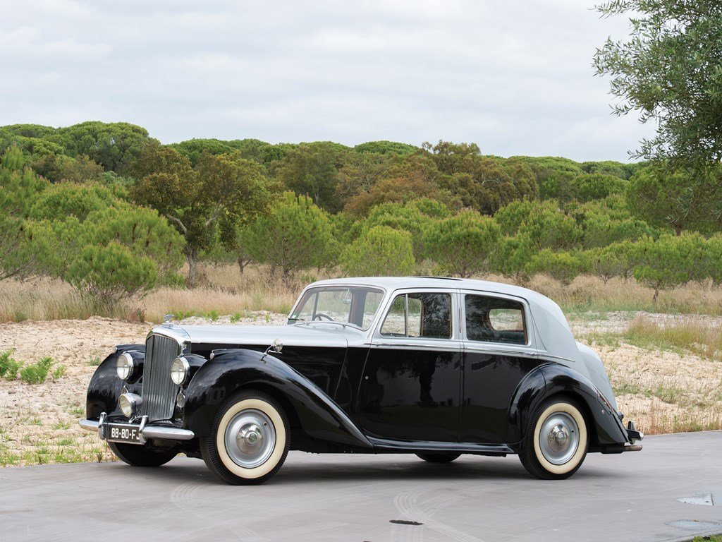 1950 Bentley Mark VI Saloon  For Sale by Auction (picture 1 of 6)