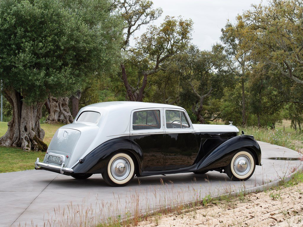 1950 Bentley Mark VI Saloon  For Sale by Auction (picture 2 of 6)