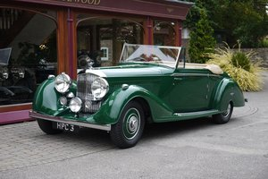 1938 Bentley 4 ¼ Litre MR Series  DHC by Vanden Plas