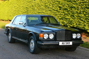 1984 Bentley Mulsanne Turbo For Sale by Auction