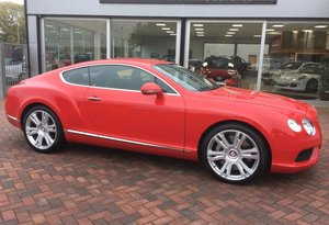 2013 Bentley Continental 4.0 V8 GT Coupe Auto For Sale