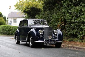 1953 Bently R Type - Wonderful History SOLD